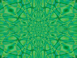 Abstract Cell Kaleidoscope by FantasyStock