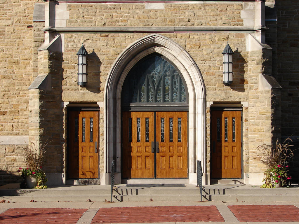 Wooden Church Doors By Fantasystock On Deviantart