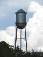 Old Metal Water Tower by FantasyStock