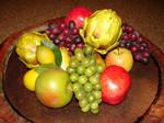 Fresh Fruit and Artichokes