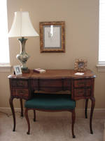 Vintage Wooden Desk 1 by FantasyStock