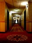 Eerie Hotel Corridor