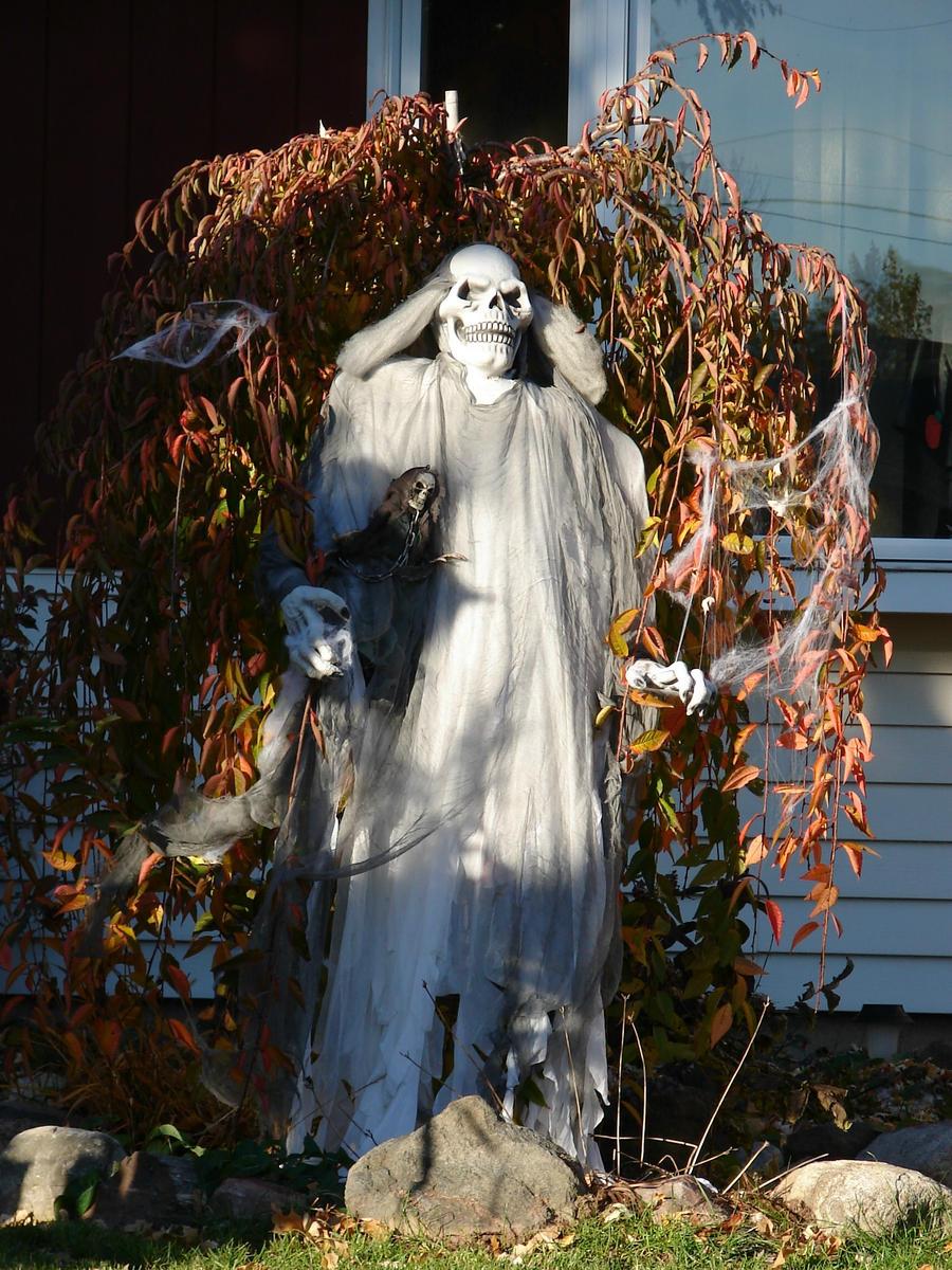 Ghost Halloween Decorations 2 By Fantasystock On Deviantart