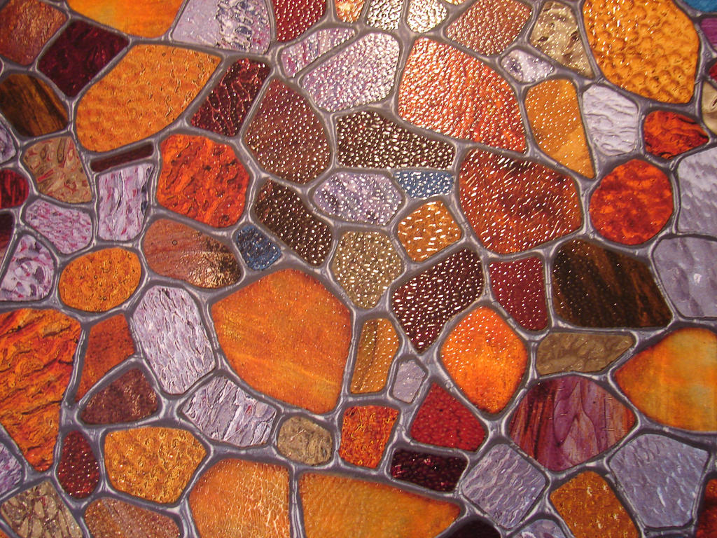 Stained Glass Pebble Texture 1