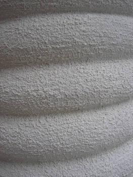 White Spiral Column Texture