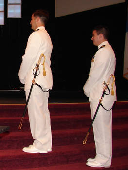 US Navy Groomsmen