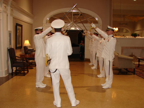 Navy Sword Archers 1