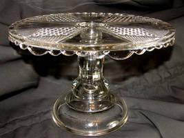 Crystal Pedestal Cake Platter by FantasyStock