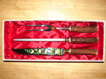 German Stag Horn Carving Set