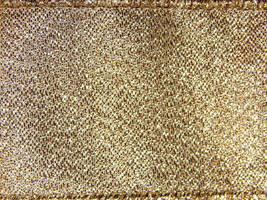 Gold Tinsel Fabric Texture 1 by FantasyStock