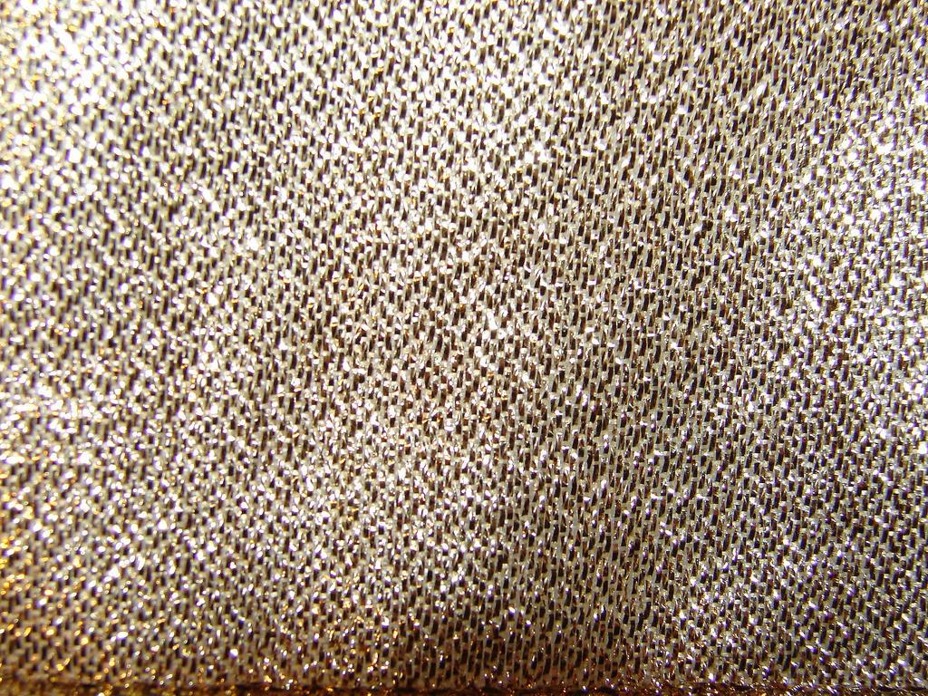 Gold Tinsel Fabric Texture 2
