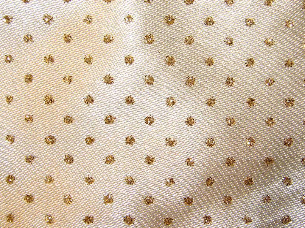Gold Satin Fabric Texture