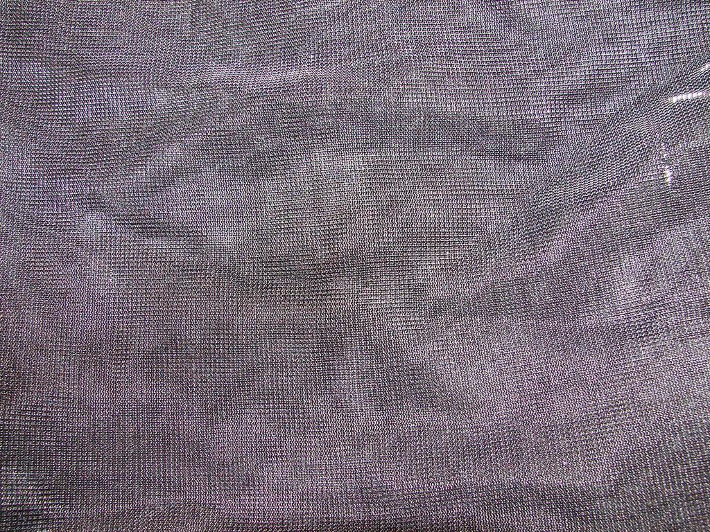 Metallic Silver Fabric Texture