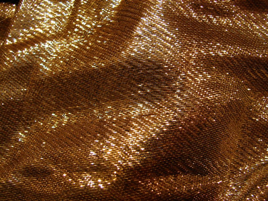 Gold Tinsel Fabric Texture 3