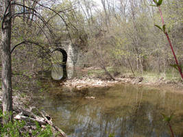 Wooded Stone Troll Bridge 4 by FantasyStock