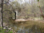Wooded Stone Troll Bridge 4