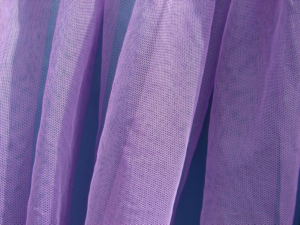Purple Tulle Fabric Texture