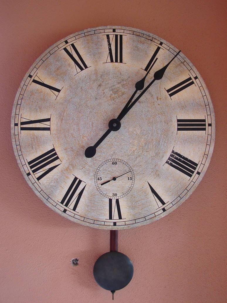 Old Wall Clock by FantasyStock