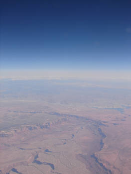 Grand Canyon from 39069 Feet 3