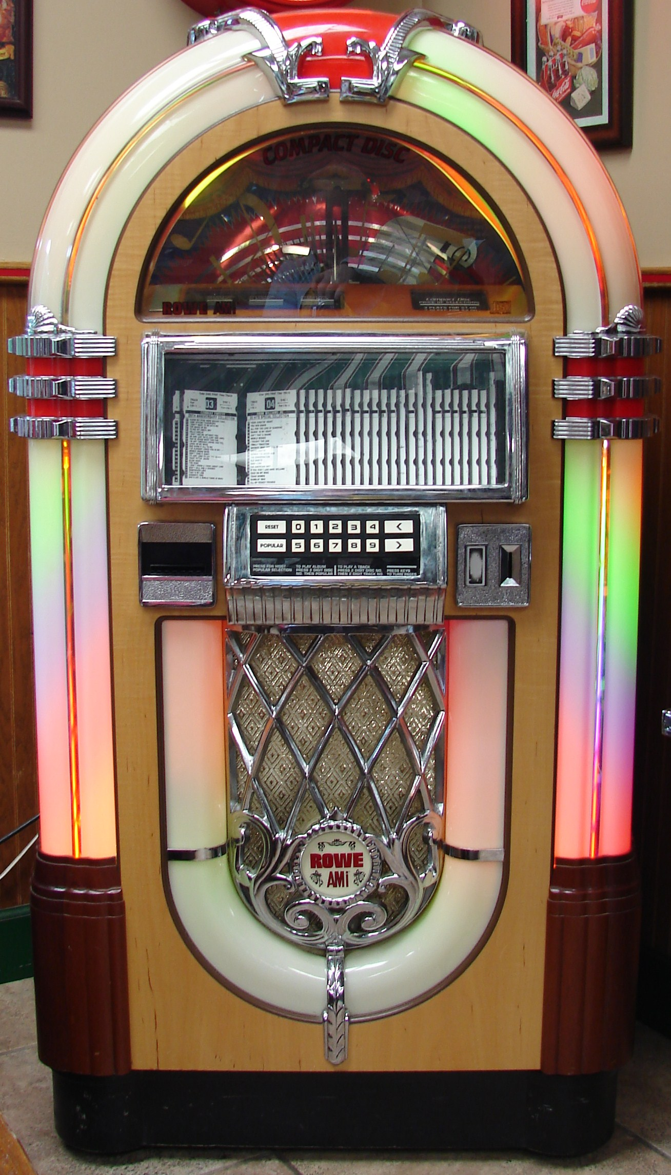 Rowe AMI Jukebox by FantasyStock