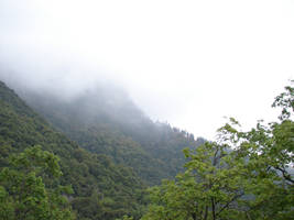 Misty Mountains 1 by FantasyStock