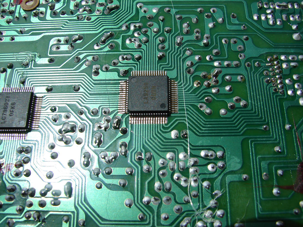 Electronic Circuit Board 1 by FantasyStock on DeviantArt