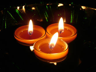 Floating Candles 3 by FantasyStock