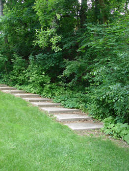 Stock Stairs Landscape 2
