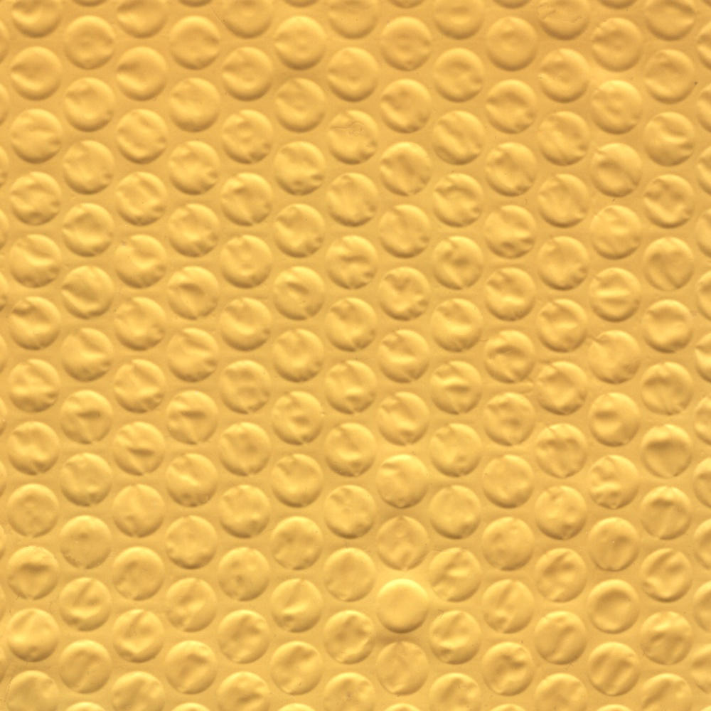 Yellow Bubble Wrap Texture by FantasyStock