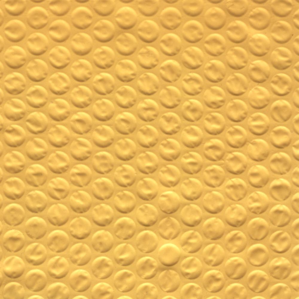 Yellow Bubble Wrap Texture