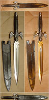 Dragon Wing Sword Prop 4 Views by FantasyStock
