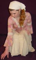 Jodi Peasant Girl Crouching