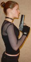 Jodi Handgun Blowing Profile