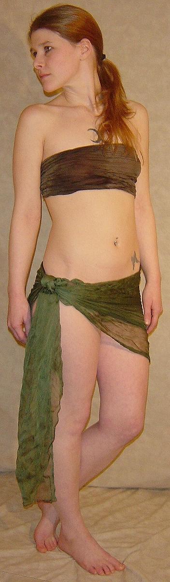 Jodi Wood Nymph Costume Pose 2 by FantasyStock