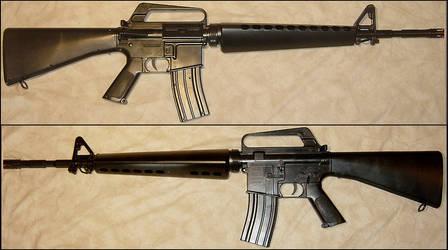 A-2 Assault Rifle Firearm Prop by FantasyStock