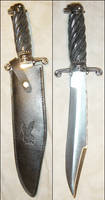 Native American Sioux Knife