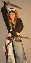 Jodi Pirate Costume Action 2