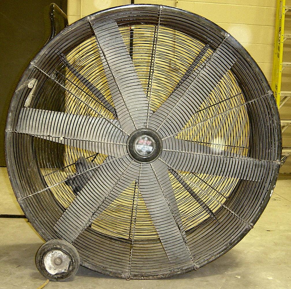 Big Fans Commercial : Large industrial electric fan by fantasystock on deviantart