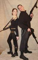 Ali + Ryan Mercenary Team 1 by FantasyStock