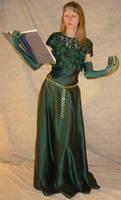 Danielle Green Dress + Book 2
