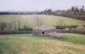 NewGrange Stone Hut Landscape by FantasyStock
