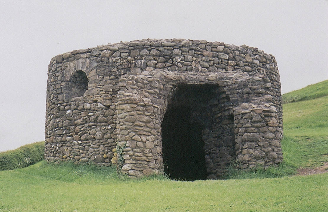 NewGrange Stone Hut Entrance by FantasyStock