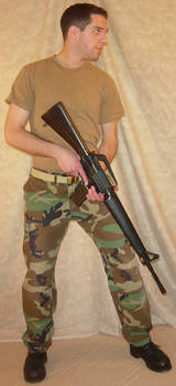Ryan Soldier at the Ready 4 by FantasyStock