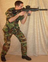 Ryan Soldier Airsoft Aimed 1 by FantasyStock