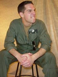 Ryan USNA Flyboy Flight Suit 8 by FantasyStock