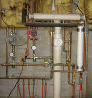 Heating System Copper Pipes by FantasyStock