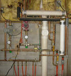 Heating System Copper Pipes