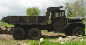 US Military Army Dump Truck