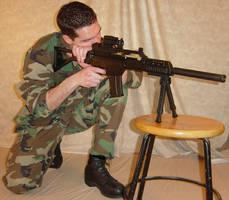 Ryan Camouflage Sniper Gun 2 by FantasyStock