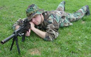 Ryan Camouflage Sniper Gun 7 by FantasyStock